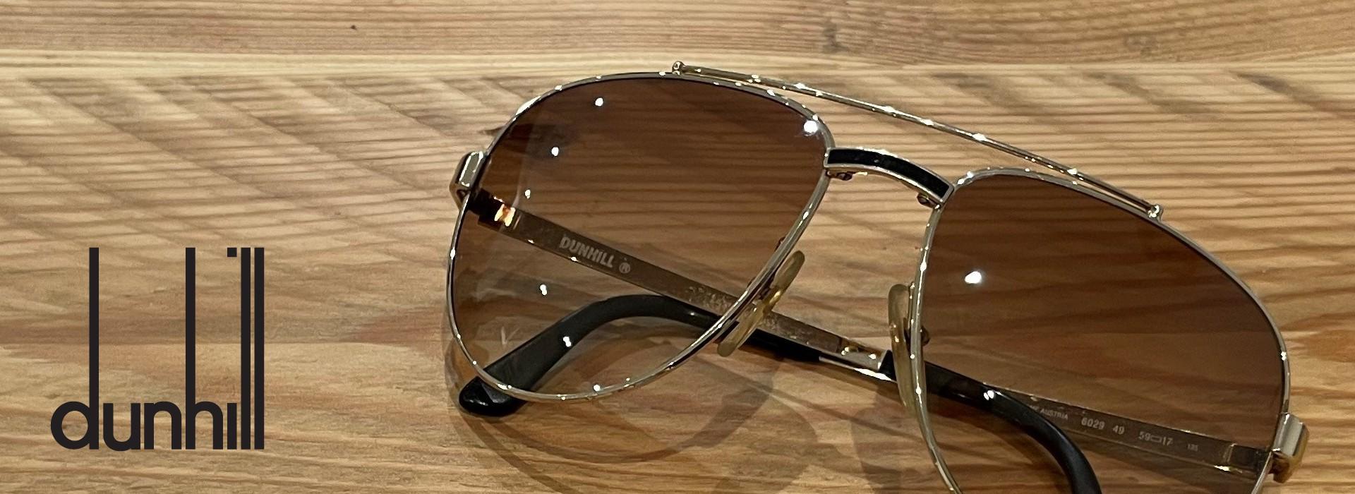 Dunhill designer vintage sunglasses