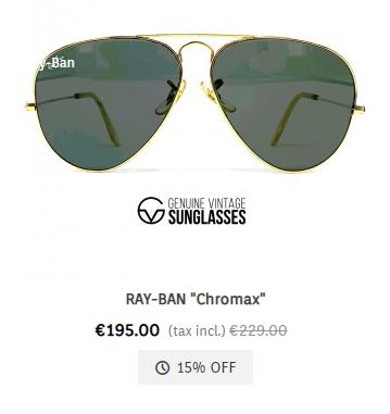 Ray-Ban chromax