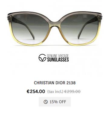 Christian Dior 2138