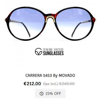 Carrera 5453 by Movado