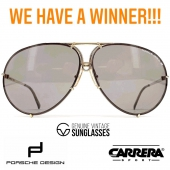 WE HAVE A WINNER! 🏆 THANKS EVERYONE FOR YOUR PARTICIPATION! THIS MONTH'S PRICE, VINTAGE PORSCHE DESIGN BY CARRERA 5621 GOES TO @andrew.italy  STAY TUNED FOR OUR UPCOMING CONTEST WITH ANOTHER PEARL FROM THE 80'S @genuinevintagesunglasses uine-vintage-sunglasses.com