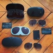FLYING OUT THE DOOR SO WE GOT SOME MORE 😎 VINTAGE PORSCHE DESIGN BY CARRERA AVIATORS COMPLETE SETS WOTH EXTRA LENSES AND ID-CARD 🏆